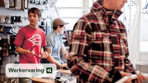Met een flitsende campagne wordt geprobeerd jongeren te verleiden om zich aan te melden voor de startersbeurs.