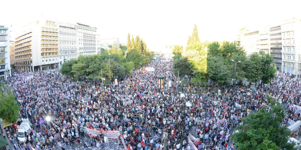 NCPN verklaring over Griekenland: Dictatuur van het kapitaal steeds meer zichtbaar in Europa