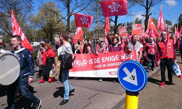 CJB & NCPN op een strijdbare Dag van de Arbeid