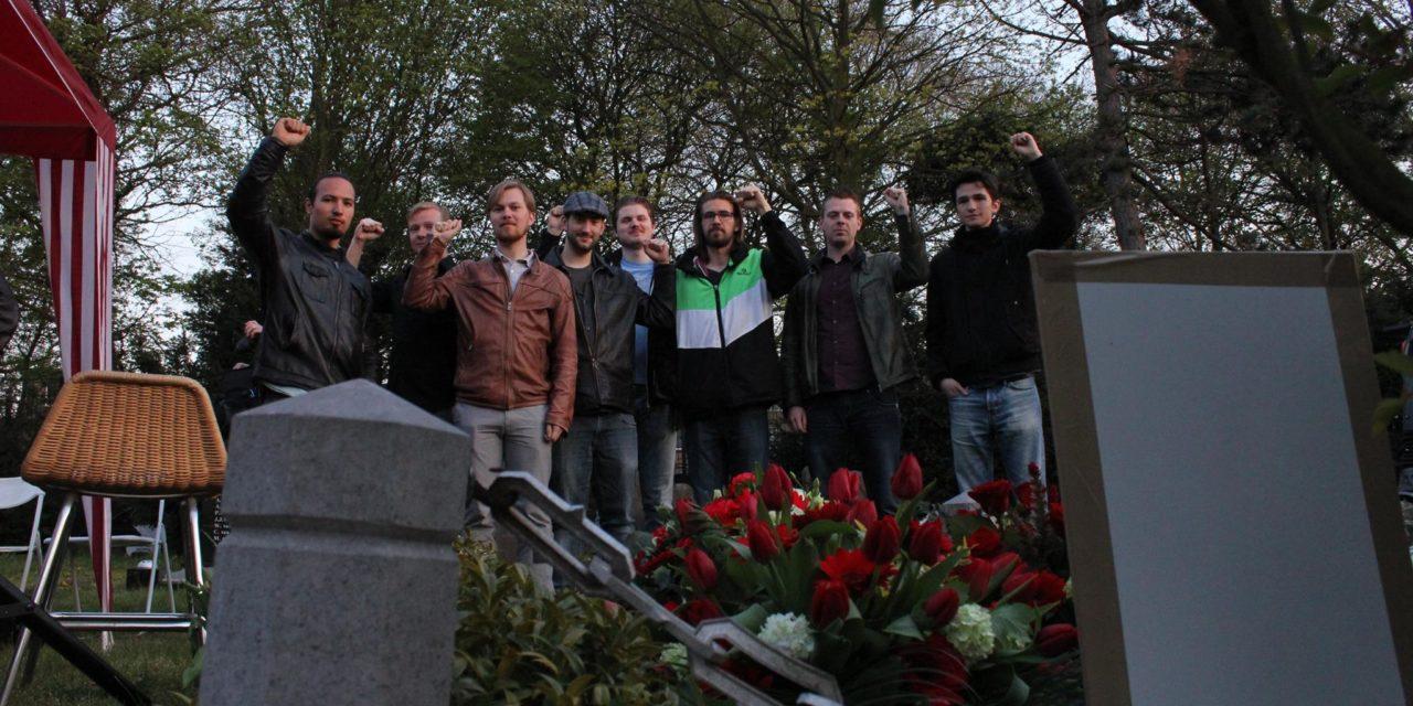 Herdenking communistische verzetsstrijder Jan Bonekamp