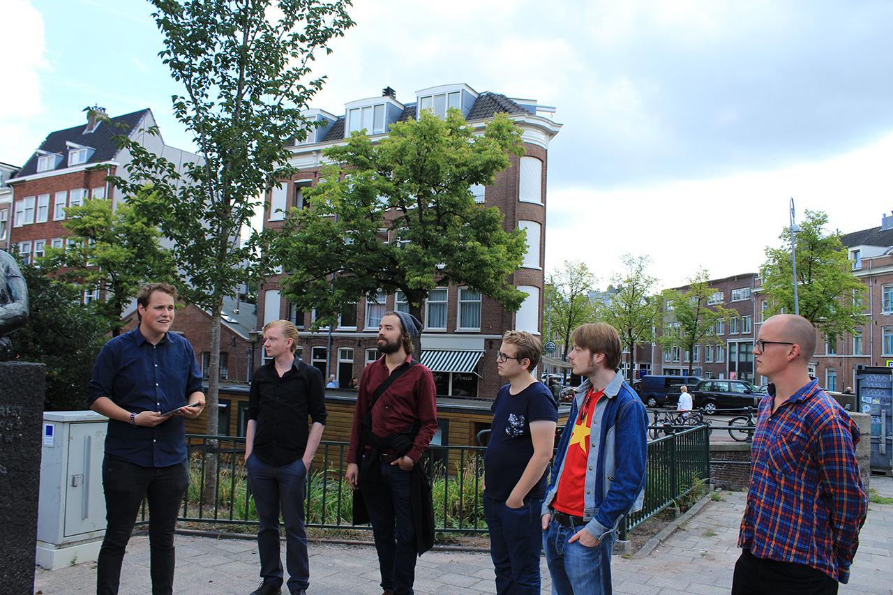 Rode Tour Amsterdam - Speech Volksvrouw