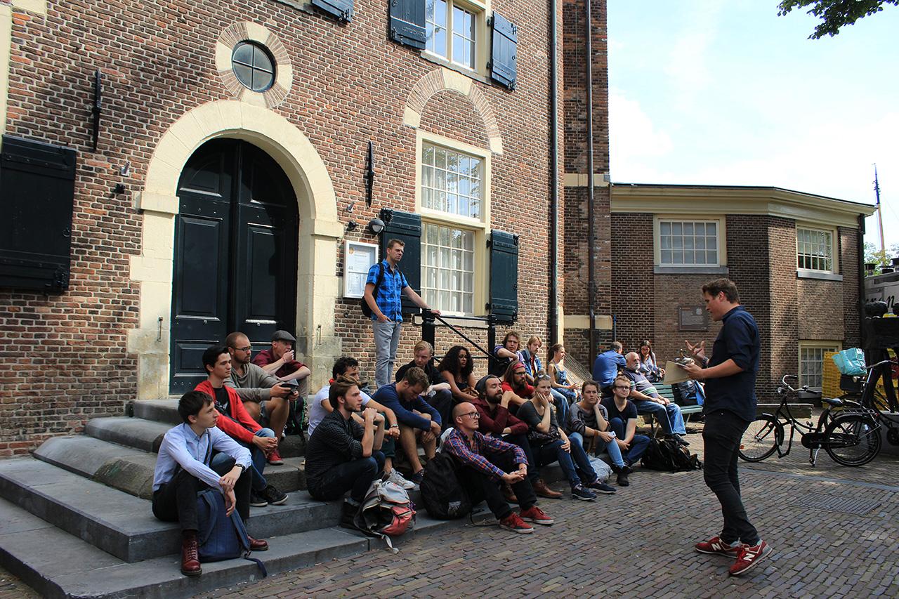 Rode Tour Amsterdam - Speech Jordaanoproer