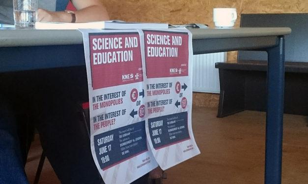 Gezamenlijk evenement CJB/KNE over de fuctie onderwijs en onderzoek in een maatschappij