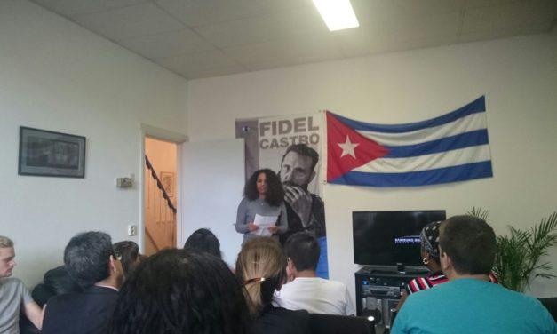 De herinnering aan Fidel is springlevend: Viva Cuba!
