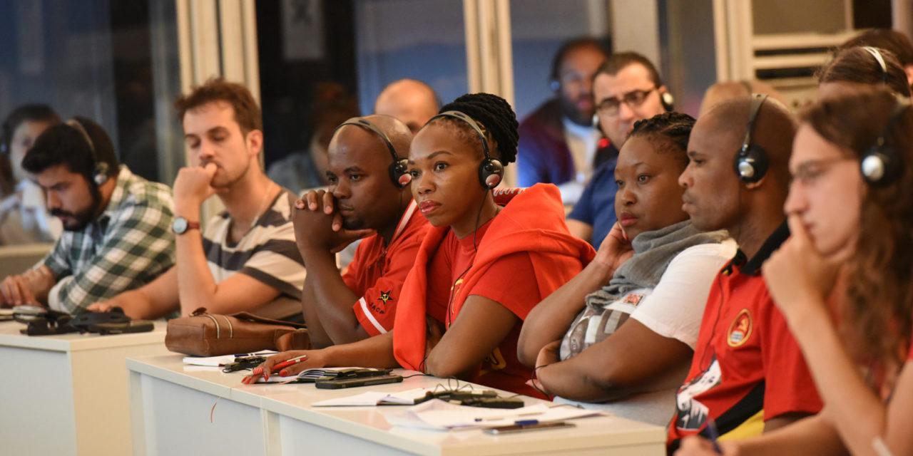 KNE Festival Odigitis: bijdrage CJB 'Ervaringen van de jeugd in de opbouw van strijd'