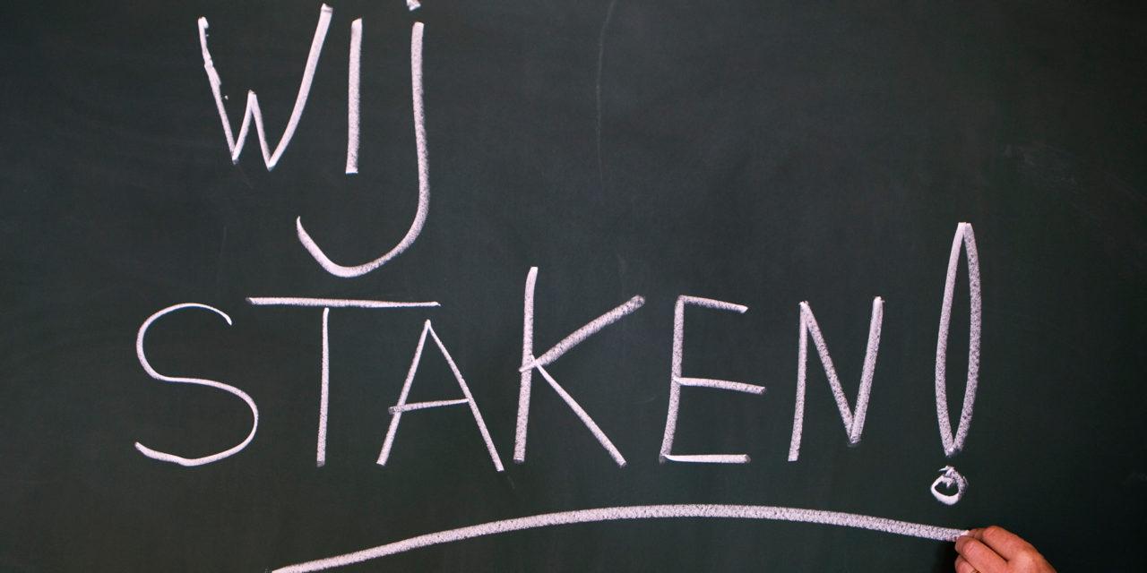 Verklaring CJB-NCPN: steun de lerarenstaking!