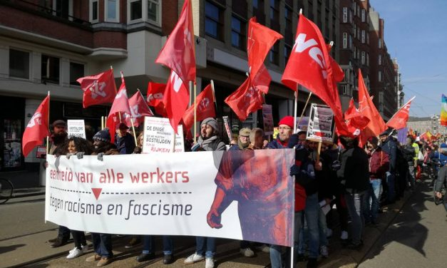 Verslag 18 maart: Eenheid van alle werkers tegen racisme en fascisme!