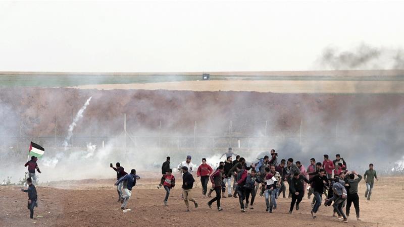 Palestijnse protesten zetten door ondanks aanvallen van Israëlische leger