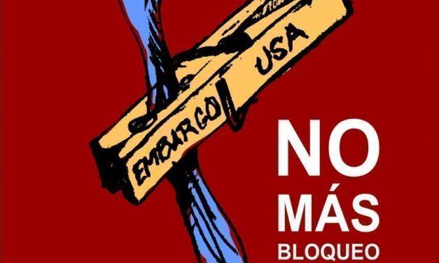 Stop onmiddellijk de illegale blokkade van Cuba!