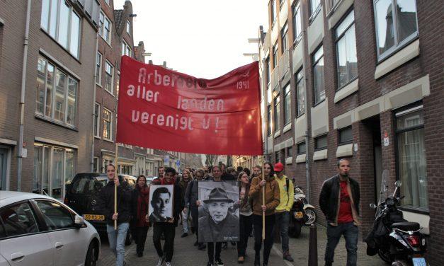 'Staakt, staakt, staakt!' – toespraak Algemeen Bestuur op viering Februaristaking