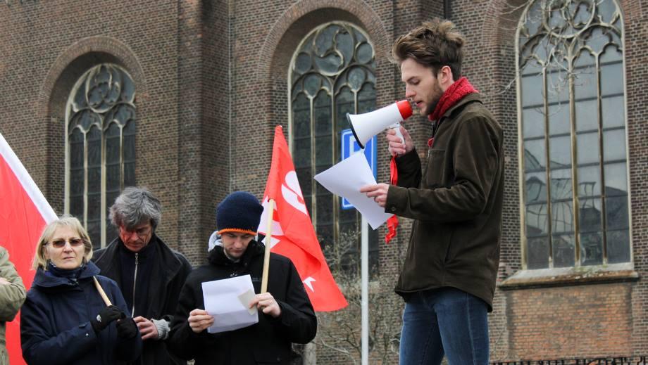 Toespraak demonstratie 9 maart: Eenheid van alle werkers tegen Racisme en Fascisme!