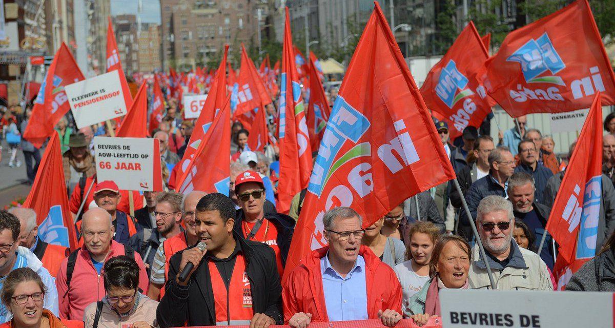 Solidariteitsverklaring CJB en NCPN met stakend personeel van OV en bedrijven