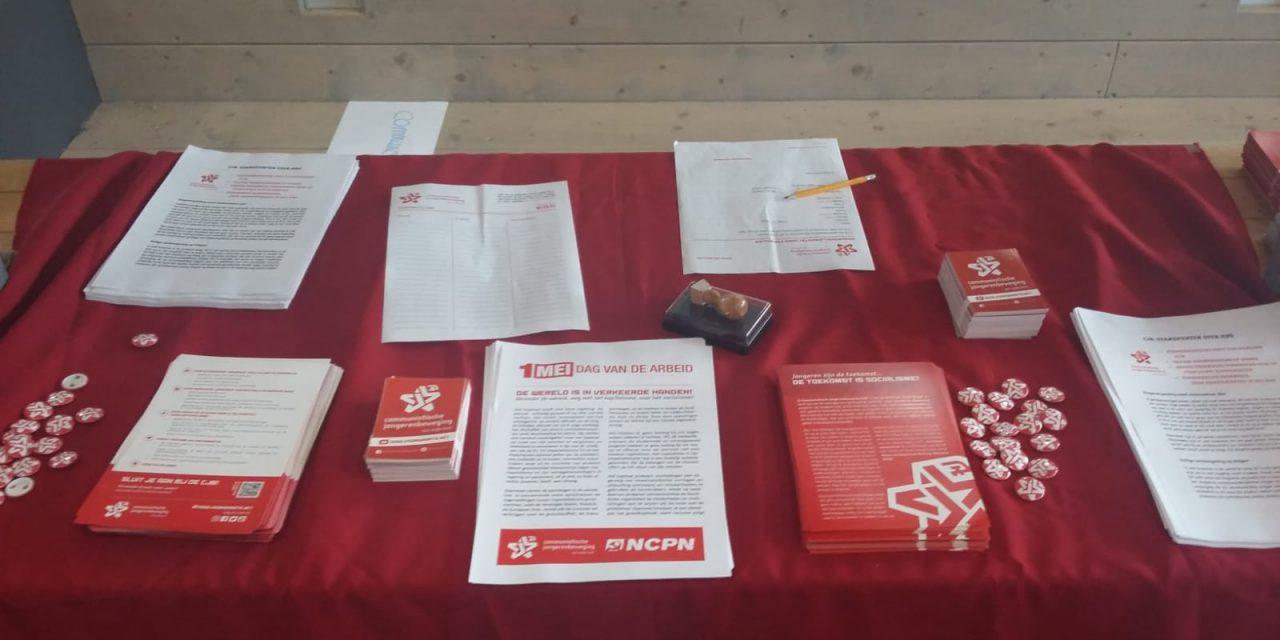 CJB in de strijd voor de belangen van mbo-studenten, tegen de EU en het kapitalisme