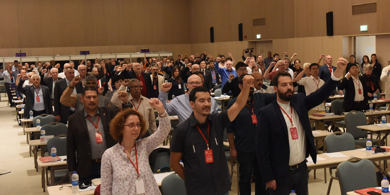 21ste Internationale Communistische Bijeenkomst in Izmir – de bijdrage van de NCPN