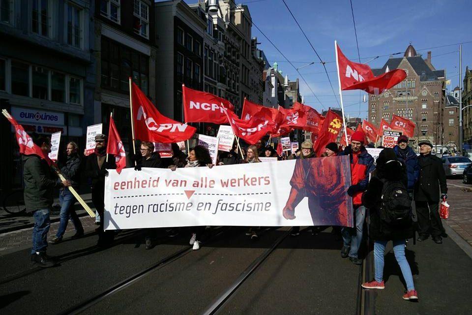 Samen vechten voor gelijke rechten!  Strijd mee tegen racisme en elke vorm van discriminatie, voor socialisme!