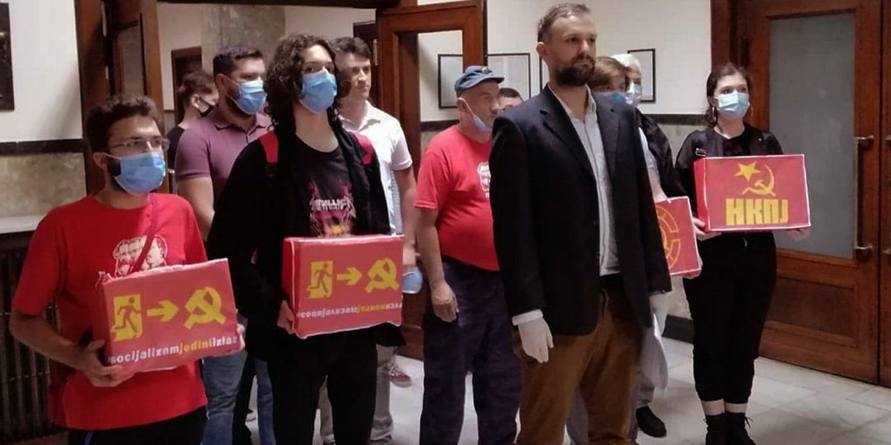 Solidariteit met communisten in Servië (NKPJ-SKOJ)! – gezamenlijke verklaring
