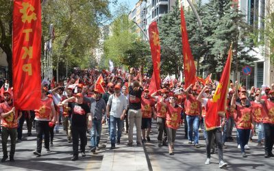 Greeting of NCPN to Turkish Communist Party for 13th Congress