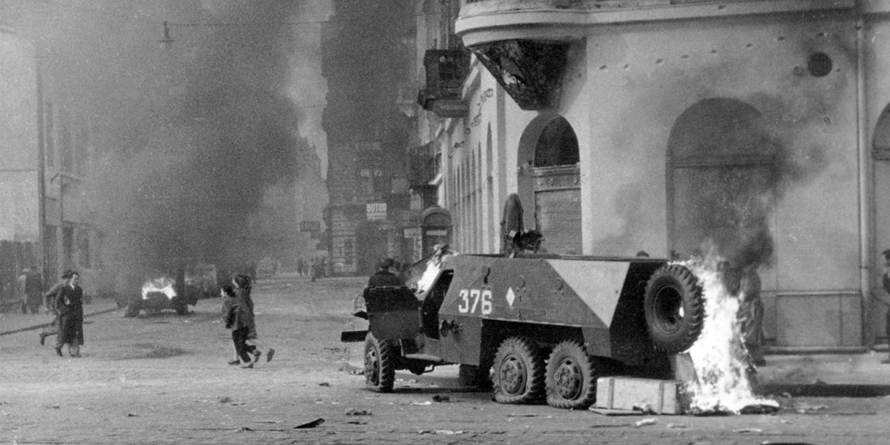 De gepoogde contrarevolutie in Hongarije 1956