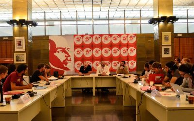 Contribution CJB to European meeting of communist youth organisations