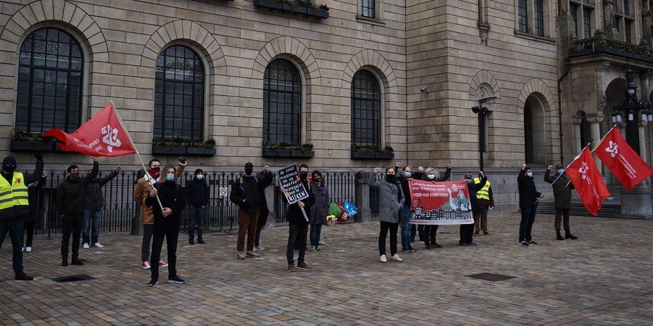 Demonstratie CJB in Rotterdam: tegen kapitalistische afbraak!