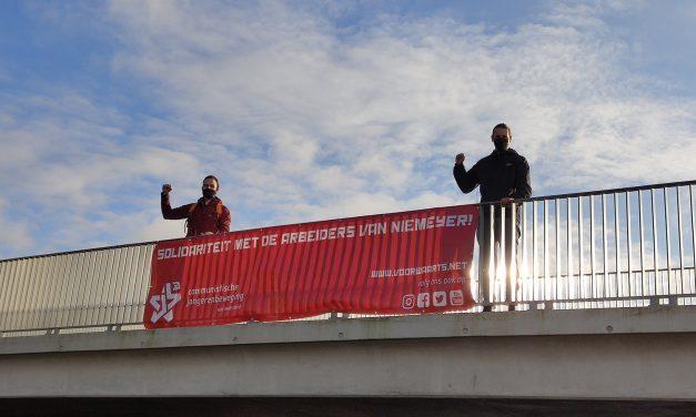 Actie in solidariteit met de arbeiders van Niemeyer