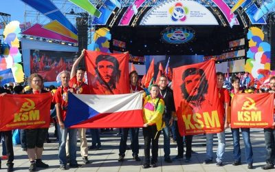 Message to Czech Communist Youth Union (KSM) for 100th anniversary
