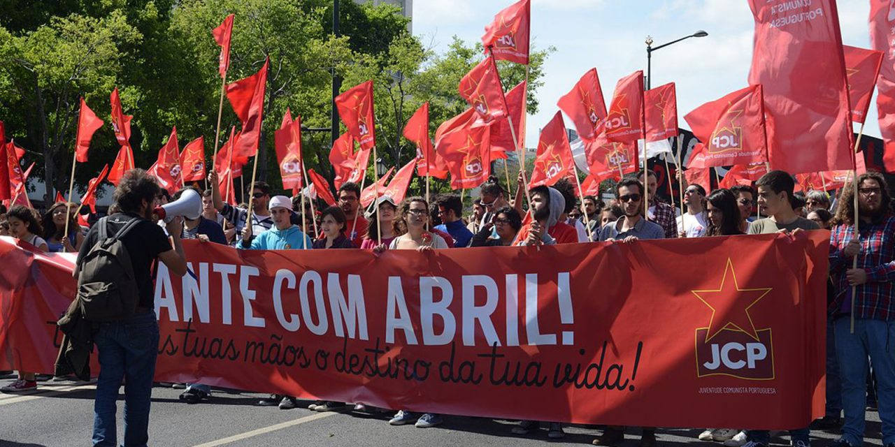 Message to Portuguese Communist Youth (JCP) for 12th Congress
