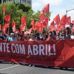 Begroeting CJB voor 12e Congres Portugese Communistische Jeugd (JCP)