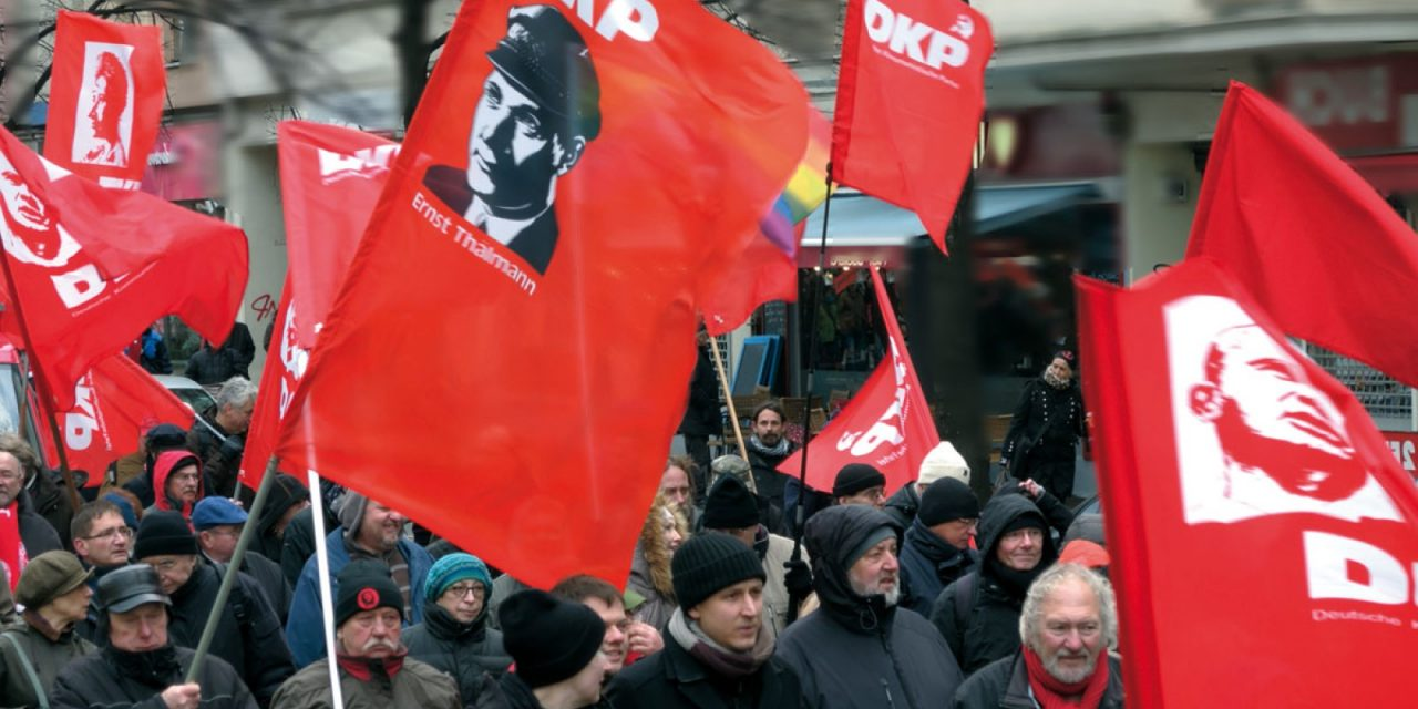 Solidarity with the German Communist Party (DKP)!
