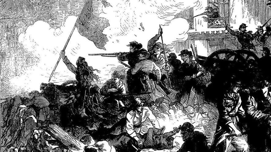 Vrouwen in de Commune van Parijs