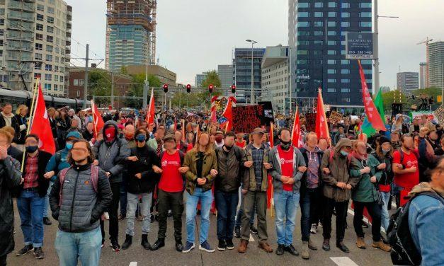Nieuwe Communistische Partij van Nederland en Communistische Jongerenbeweging veroordelen politiegeweld Woonopstand
