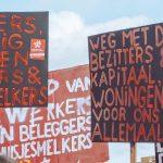 CJB aanwezig bij Woonprotest Amsterdam & Woonopstand Rotterdam!